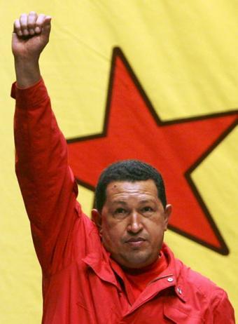 http://www.pacoredondo.com/images/Hugo_Chavez_pu%C3%B1o.jpg